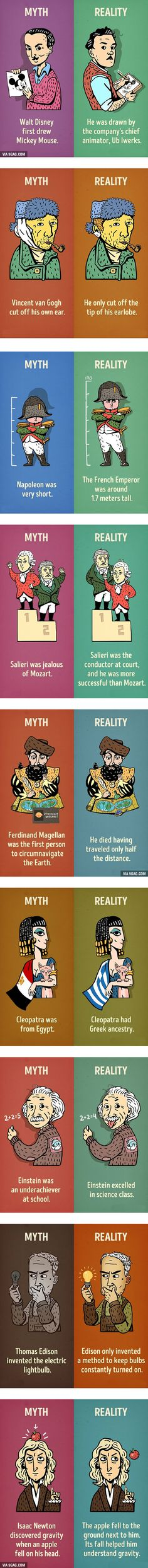 Nine historical myths we need to stop believing
