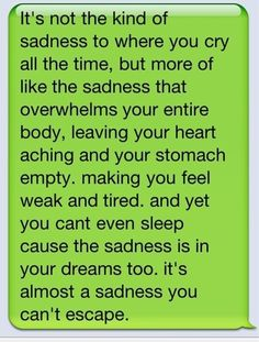 Perfectly said for me..heartbreak.
