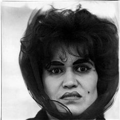 Diane Arbus - Puerto Rican Woman with a Beauty Mark, N.Y.C.  (1965)