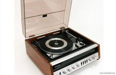 dual turntable   SONY HP-510A RECEIVER & DUAL 1211 TURNTABLE