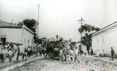 Esquina da rua Fernão Dias com a rua Teodoro Sampaio, em 1920