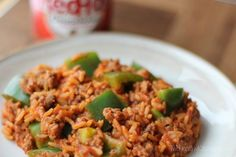 Un-Stuffed Pepper Skillet by Two Healthy Kitchens