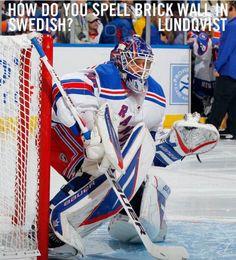 Lundqvist. Yup, that's a fact.