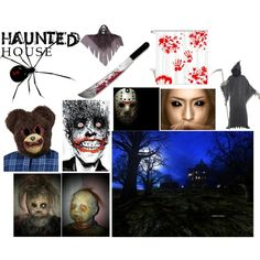 """Haunted House"" by thelittleunicornnameddeyonna on Polyvore"