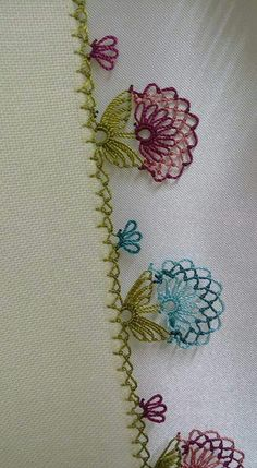 Crochet Easy Motif Granny Square - My Recommendations Silk Ribbon Embroidery, Embroidery Stitches, Embroidery Patterns, Hand Embroidery, Crochet Patterns, Needle Tatting, Needle Lace, Lace Art, Point Lace