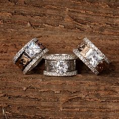 Anniversary Western wedding rings..just an idea ;)