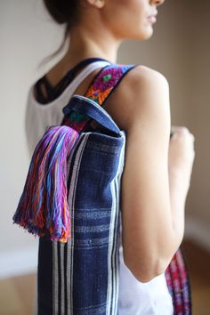 Yoga Mat Bag Close Up