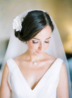 Gorgeous headpiece with veil #wedding #veil #bride