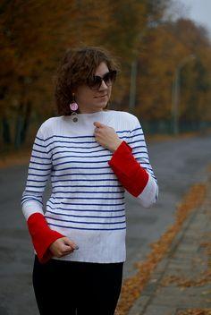 A new life: Zaful striped sweater