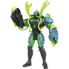 Max Steel Toxzon | Boneco Max Steel Toxzon Garras Tóxicas - Mattel