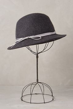 4942778a51012 pottery lane fedora #anthrofave #newarrivals #anthropologie Workout  Accessories, Grey Fashion, Clothes