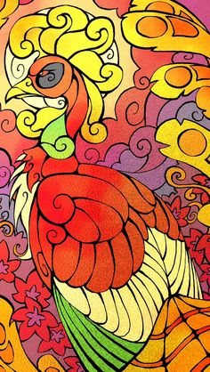 Ho-oh stained glass