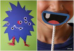 Monsterparty zum Kindergeburtstag hier findest du tolle Ideen!