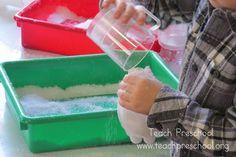 Winter in a bottle ornament by Teach Preschool