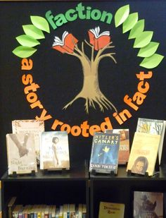 Library Displays: This blog shares displays ideas. A weakness of mine. #tlchat #aslachat
