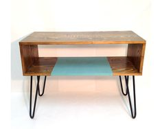 Console Table, Midcentury Modern Furniture, Modern Coffee Table, Hairpin Legs  Table, TV