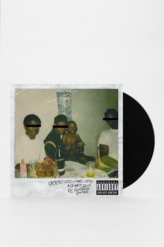 Kendrick Lamar - Good Kid, m.A.A.d city 2XLP #urbanoutfitters