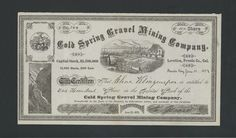 Cold Spring Gravel Mining Co