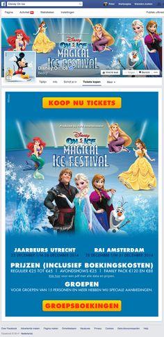 Facebook App   Facebook Marketing   Disney on Ice, Ticket kopen (in opdracht van Ticketpoint)