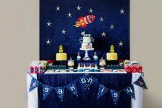 Boy's Outer Space Themed Party and Decoration Ideas