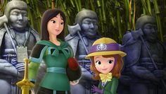 Mulan to Make a Special Appearence on Sofia the First | Home is Where the Mouse is