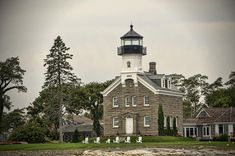 Morgan Point Lighthouse Photograph by Phyllis Taylor