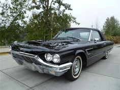1965 FORD THUNDERBIRD CONVERTIBLE. Had one of these bad boys on Fast N' Loud last night.