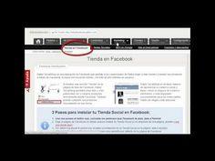 Con este vídeo tutorial te explicaremos en apenas 2 minutos como podéis crear vuestras tiendas en Facebook de forma rápida y en menos de 5 clics de ratón.