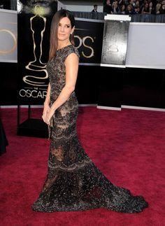 The 15 Best Bodies at the Oscars: Sandra Bullock