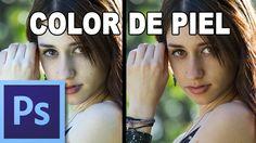 Corregir el color de la piel - Tutorial Photoshop en Español