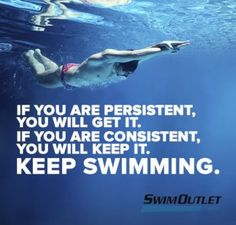 Be persistent.