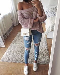 Cozy look! 😍😍 Yay? (By @thanyaw) 💞💥 Via @4adidas_ College Outfits, Outfits For Teens, Trendy Outfits, School Outfits, Spring Outfits, Winter Outfits, Outfit Summer, Dresses Dresses, Kohls Dresses