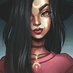 negralinda Dope Art, Arte Digital, Fantasy Art, Witch Art, Pretty Art, Cool Drawings, Art Sketches, Fairytail Natsu, Art Reference