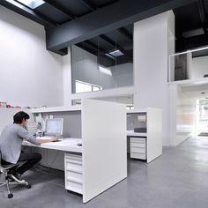 nice office space - no walls vs. walls - happy medium