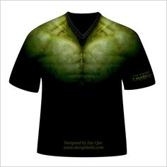 HULK T-Shirt Design PSD (I Am Always Angry) - now how do i get this made...