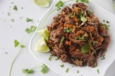 Mexican Shredded Beef {Instant Pot or Slow Cooker}