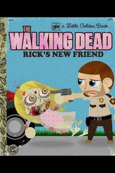 Walking Dead children's book spoof