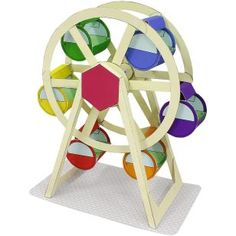 Freizeitpark(Riesenrad),Spielzeuge,Papiermodelle,Freizeitpark,Staedte,Stadt