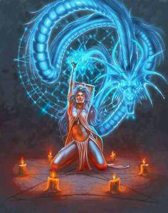 Dragon Magic Ritual fantasy dragons