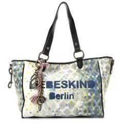 wardow.com - #Liebeskind, Canvas Print Mika Shopper grau 37 cm