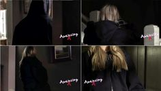 "We only know one thing about Mona's killer: she (he, it) has blonde hair. | ""Pretty Little Liars"" Fatal Finale: Who Dunnit"