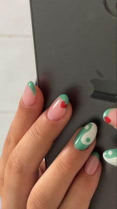 Edgy Nails, Funky Nails, Stylish Nails, Swag Nails, Funky Nail Art, Trendy Nail Art, Acylic Nails, Nagellack Trends, Nail Jewelry