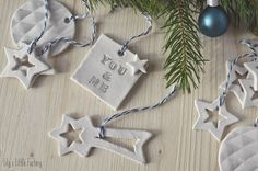 Des Suspensions En Pâte A Modeler Pour Le Sapin {It's Christmas Time} | Lily's Little Factory - Blog DIY - Bretagne