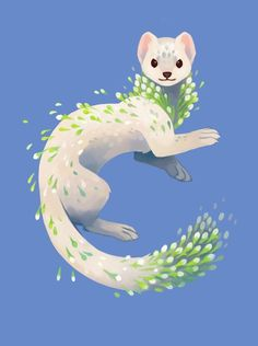 January Snow Jasmine By Heather Penn Illustration Art - January Snow Jasmine By Heather Penn Visit January Snow Jasmine An Art Print By Heather Penn Time Blur Prints Of My Tea Spirit Series Now Available Creature Design Amazing Art Illustration Inspiration, Art Et Illustration, Inspiration Art, Animal Illustrations, Cute Animal Drawings, Cute Drawings, Furry Art, Art Mignon, Mythical Creatures Art
