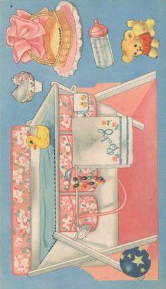 Vintage New Baby Paper Dolls
