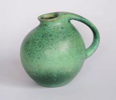 Karlsruher+Majolika+Krug+|+Vase+Form+5928+Entwurf+Fridegart+Glatzle+1956+|+50er+