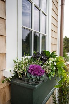 The gorgeous planter boxes from the HGTV Dream Home 2015