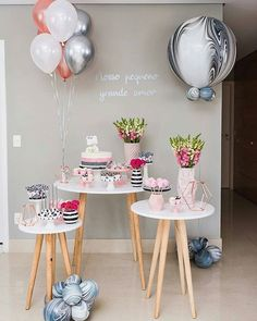 Elegant Birthday Party, Birthday Party Snacks, Birthday Party For Teens, Sleepover Party, Diy Birthday, Birthday Table Decorations, Birthday Backdrop, Ideas Decoracion Cumpleaños, Its My Bday