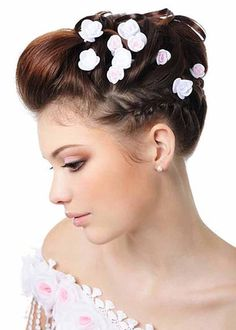 I really like this hair do Wedding HairStyles and Wedding Hair Accesories