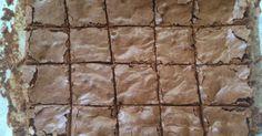E mais uma receita de brownie para o blog... Sexta feira o pessoal do snapchat me acompanhou na receita de um Brownie com Pedacinhos Chocolate Branco. Prometi que se ficasse bom eu postaria a receita... e ficou muito gostoso... No sábado, dia 09/04, foi o Encontro de... #bolos #brownie #doces
